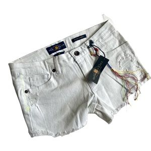 Lucky Brand Distressed Riley Shorts NWT